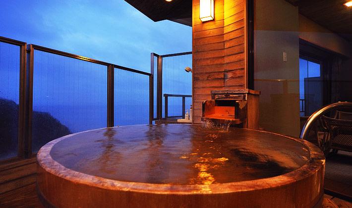 宿でのんびりできる「露天風呂 ...